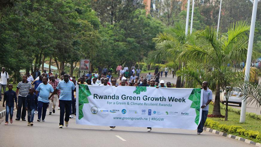 Green growth week was held last week to raises awareness on the international climate finance landscape. / Courtesy