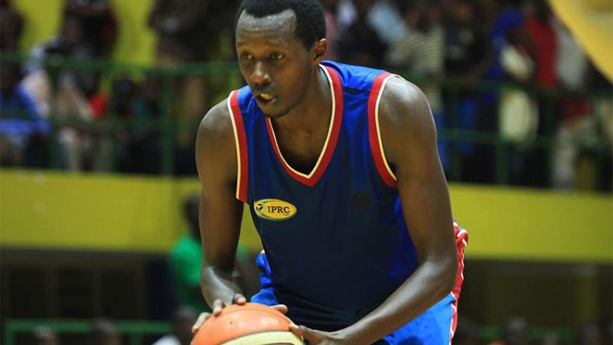 Now at Patriots, small forward Steven Havugintwari was IPRC- Kigali's best player for the last three seasons. (File)