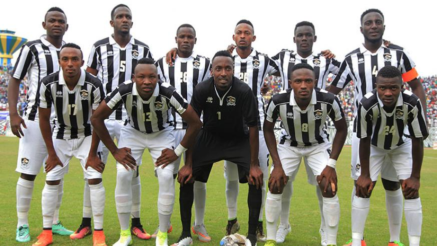 The 2017 Peace Cup winners, APR FC will meet Anse Reunion of Seychelles in the qualifying round of CAF Confederation Cup. (Sam Ngendahimana)