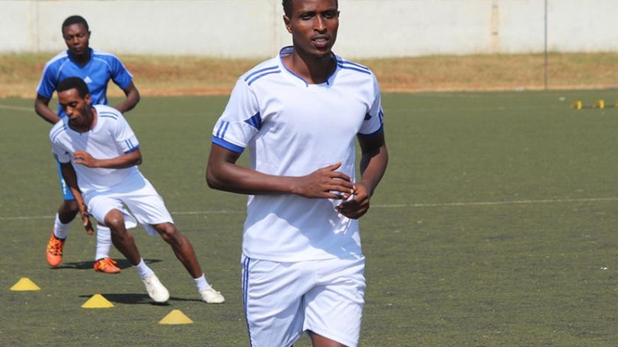 Irambona netted the only goal as Rayon Sports claimed a1-0 win over Police FC. File.