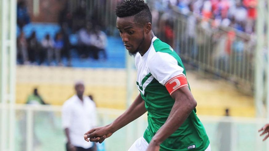 Former Rayon Sports midfielder Fabrice Mugheni  now SC Kiyovu skipper, will be hoping to lead his team to victory over Marines. Sam Ngendahimana.