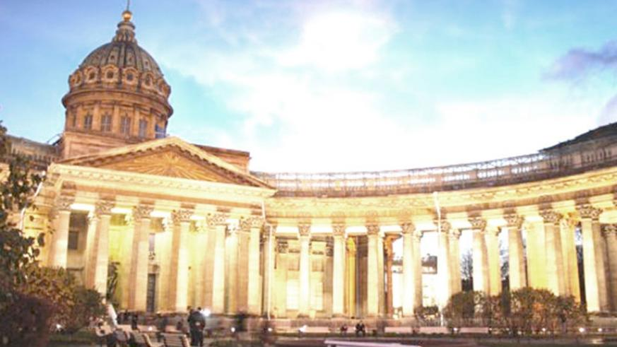 The alleged plot targeted St Petersburg's Kazan Cathedral. Net photo.