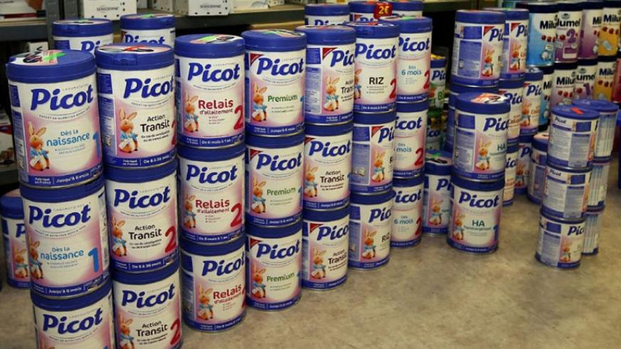 RSB says that they are aware of a brand by the French diary on the Rwandan market named 'Picot' and they are conducting investigations to find out whether it is contaminated. / Tim....