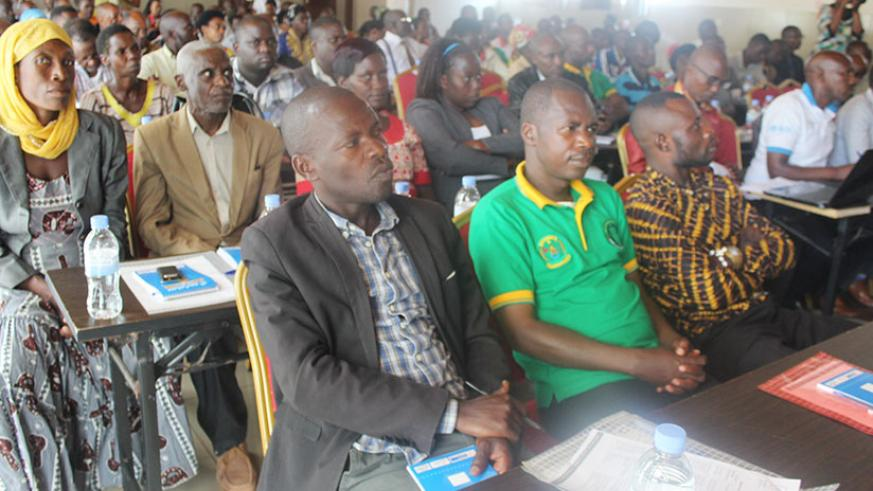 Herbalists are being trained as part of efforts to modernise the practice. They have lauded the move to set up processing units. / Michel Nkurunziza