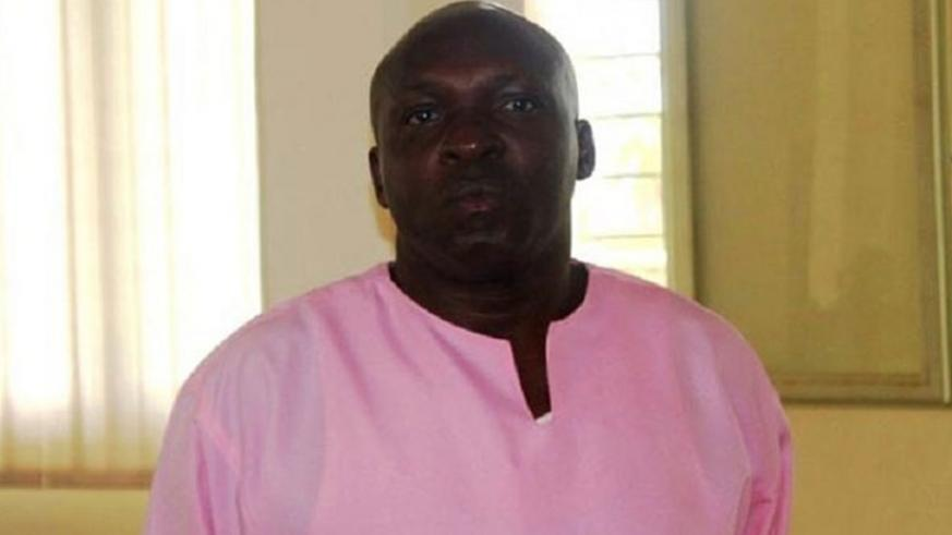 Emmanuel Mbarushimana appears in court on Friday. Courtesy