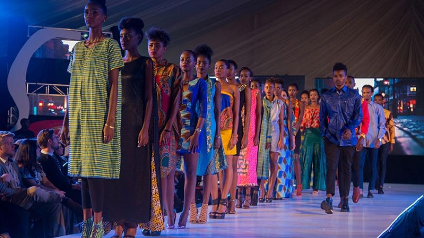 Kigali Fashion week, which was organised at Kigali Serena Hotel in February. File