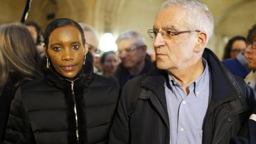 Alain and Dafroza Gauthier are legal representatives of the Civil Society Organisation that has worked to bring to book genocide fugitives living in France. / Net photo
