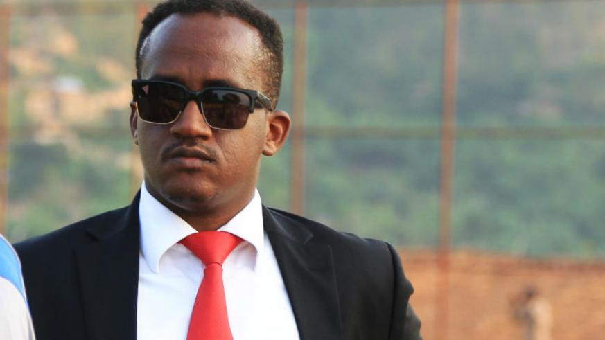 Rayon Sports boss Denis Gacinya. / Sam Ngendahimana