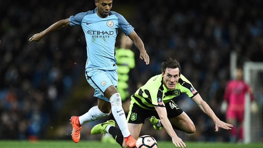 Midfielder Fernandinho is happy to be playing so many games, and would gladly face Burnley in the FA Cup on Saturday. Net photo