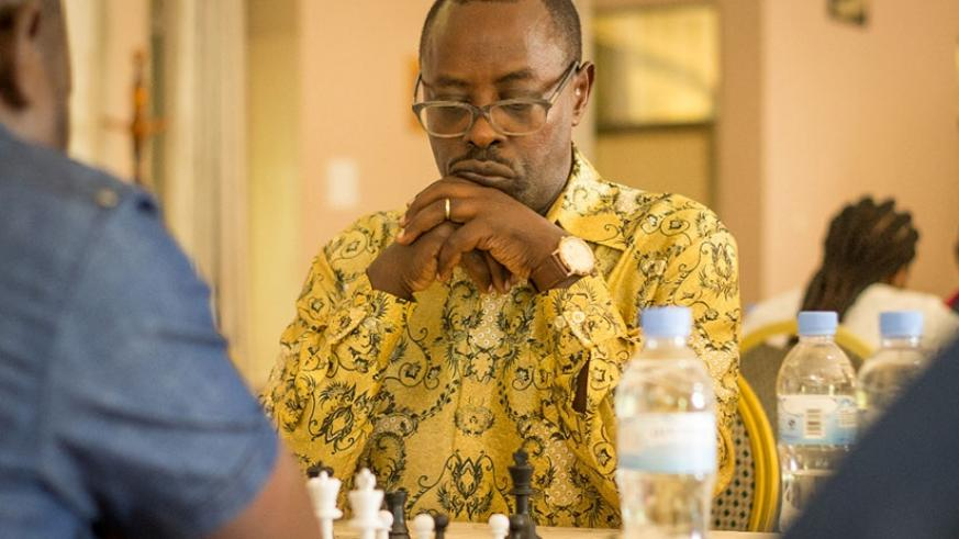 Dr Ben Karenzi was crowned national chess champion 2017, last month.