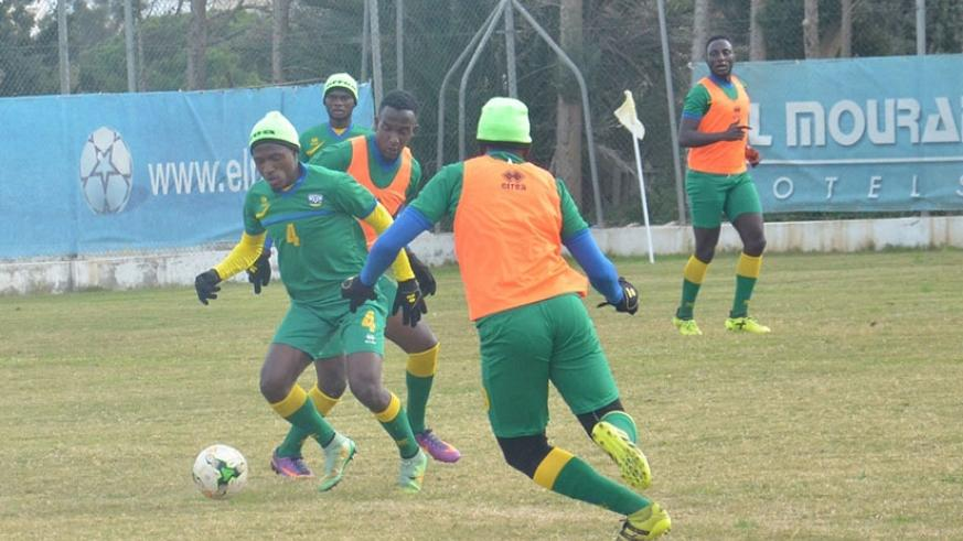Amavubi coach Anoine  Hey says he will give each player the chance to play in the three warm-up matches. Courtesy