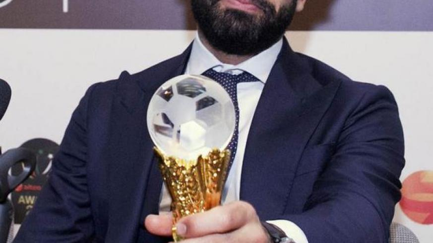 Egypt and Liverpool's Mohamed Salah named African Footballer of the Year. / Net photo