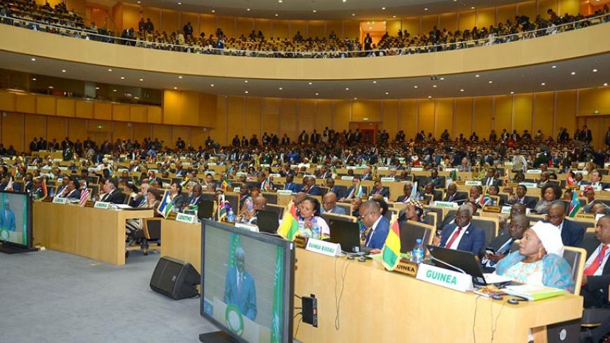 African leaders during the African Union summit last year. This year's summit which convenes later this month is expected to receive a progress report on the status of negotiations....