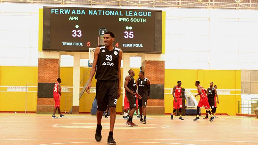 Burundi international Jean de Dieu Ntagunduka scored a game high 18 points as APR beat IPRC-South 80-71 on Sunday. / Courtesy