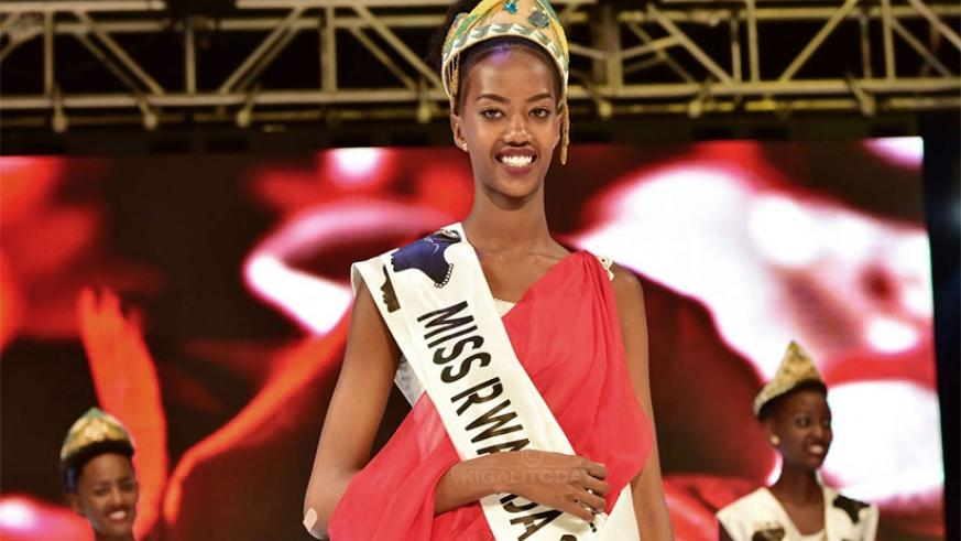 Elsa Iradukunda is the 6th Miss Rwanda, and the second to represent the country at Miss World. File.