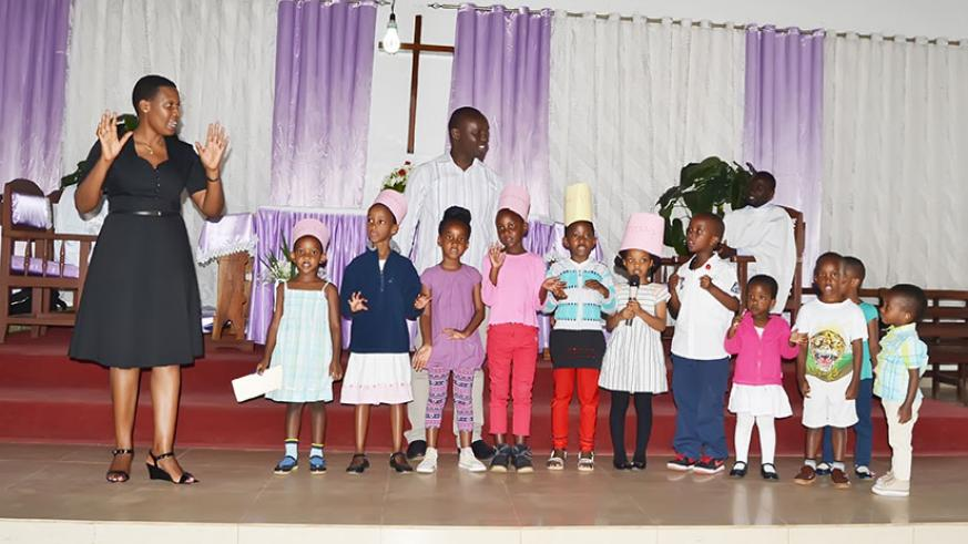 Sunday School services give children a chance to learn about God. / Dennis Agaba.