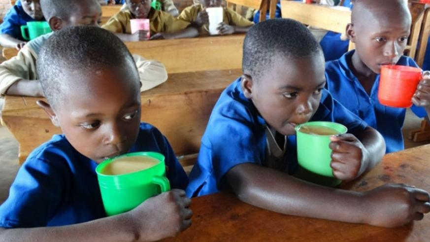 Children take porridge. A law that governs social enterprises in the country should be enacted in order to make tax exemptions for companies that operate with a mission to find com....