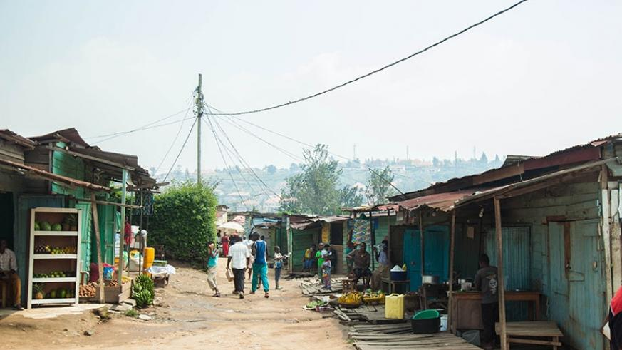 Nyarutarama's Kangondo neighbourhood that is set for a major face-lift. 
