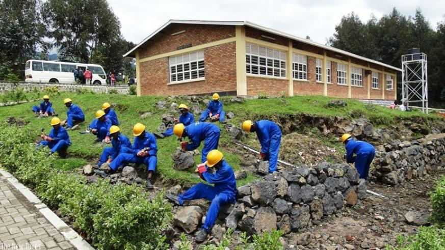 107 youth supported to afford vocational training.