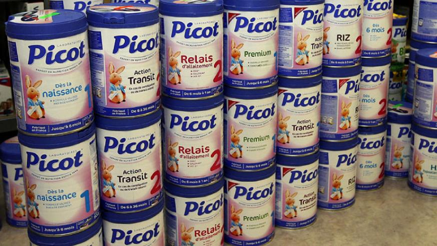 The public has been advised to stop feeding Lactalis Group products like Celia to their babies. (Net photo)