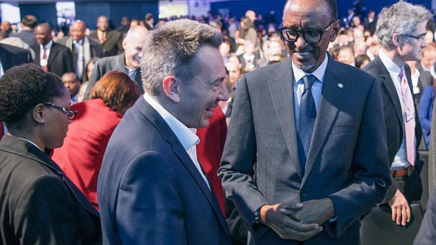 In Davos, President Kagame is expected to speak at the Washington Post Foreign Policy Lunch 2018 as well as deliver the closing remarks at the Peace-building in Africa session. (Vi....