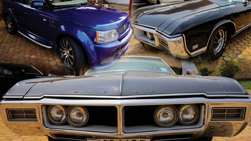 A photo montage of some of the vintage cars that will be showcased at IPRC-Kigali on Saturday. (Photos by Timothy Kisambira)