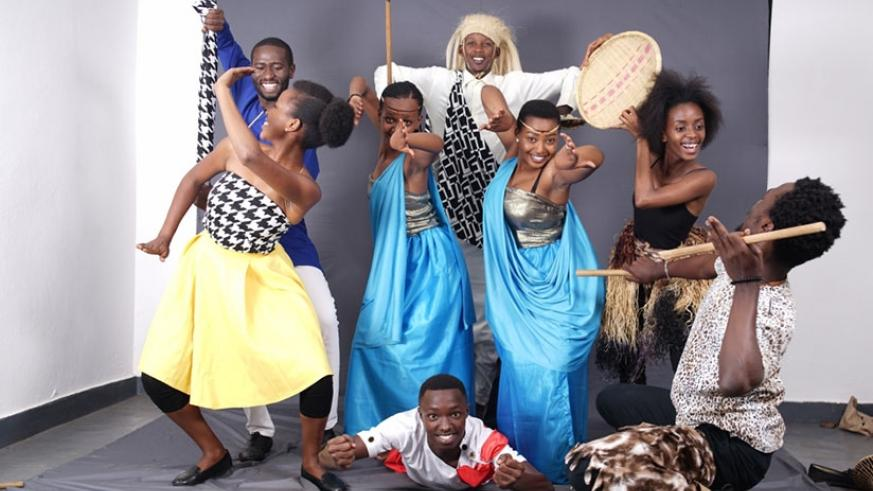 Performers  in rehearsals ahead of Sunday's Christian Dance Festival.