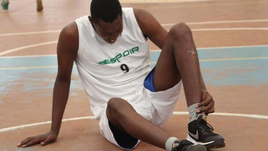 Espoir's Regis Gatoto, scored a game high 19 points on Saturday.
