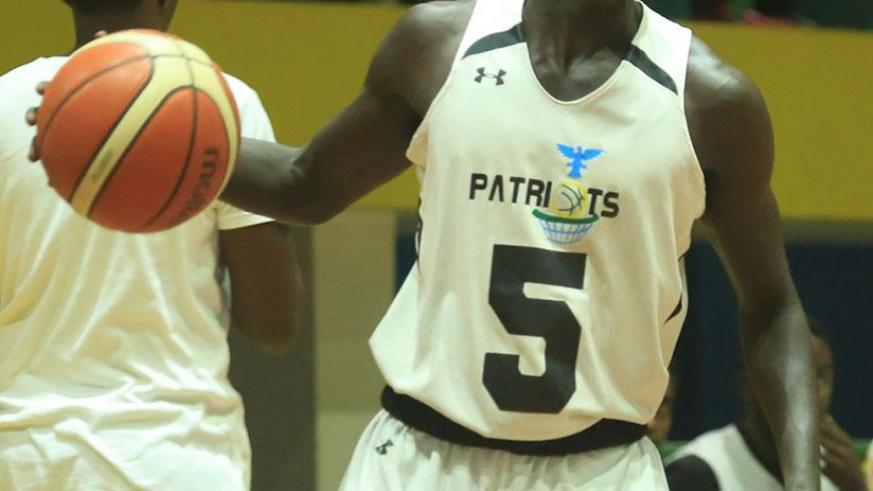 Point-guard Sedar Sagamba scored 23 points on Sunday to help Patriots redeem themselves against IPRC-South. / S. Ngendahimana