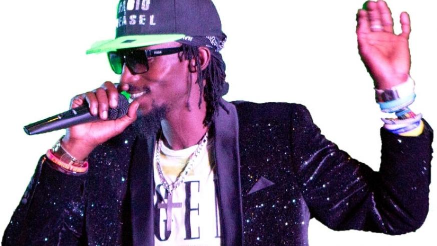 Mowzey Radio performs before Rwandans during celebrations to mark  21 years of Liberation in 2015 (File)