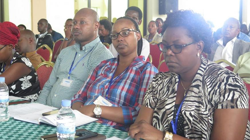 Some of the association members who attended the general assembly last Friday. Eddie Nsabimana.