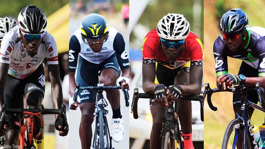 Team Rwanda elite riders Valens Ndayisenga, Adrien Niyonshuti, Bosco Nsengimana and Joseph Areruya will be competing for medals during African Championships which get underway toda....