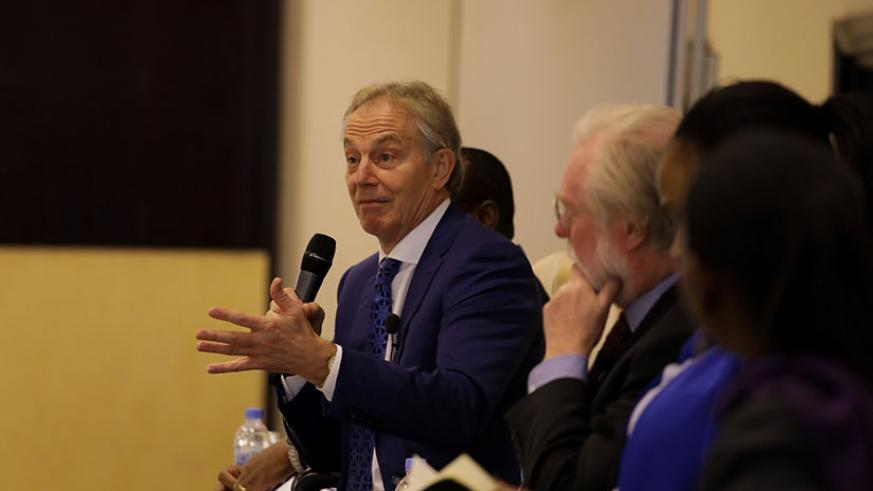 Former British Prime Minister Tony Blair says  that the journey towards Rwanda's middle income status will among other things require improvement in the education system. Tim....