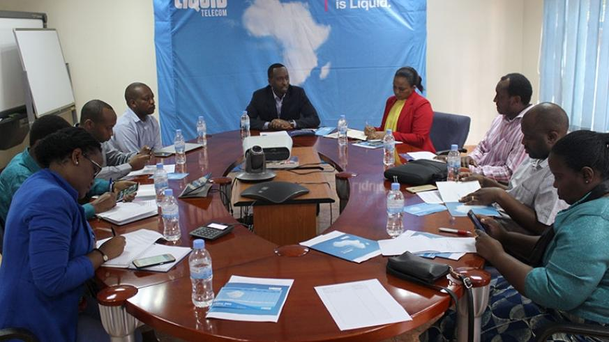 Liquid Telecom Rwanda unveiled its Cloud partnership with Microsoft Corporation at the event yesterday. Courtesy
