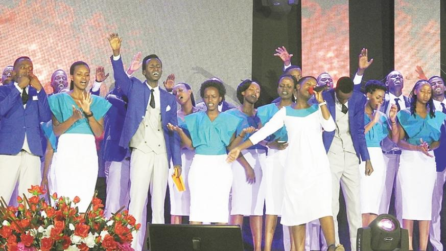 Gospel music group thrills believers in live performance