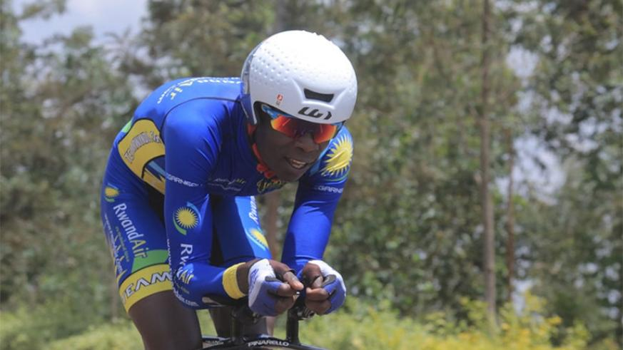 Jean Bosco Nsengimana will be part of the Rwandan riders competing for honours. File.
