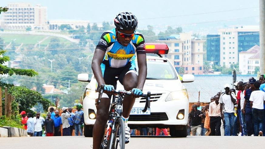 Former Team Rwanda captain Janvier Hadi, is regarded as one of the finest cyclists the country has ever known. Sam Ngendahimana.