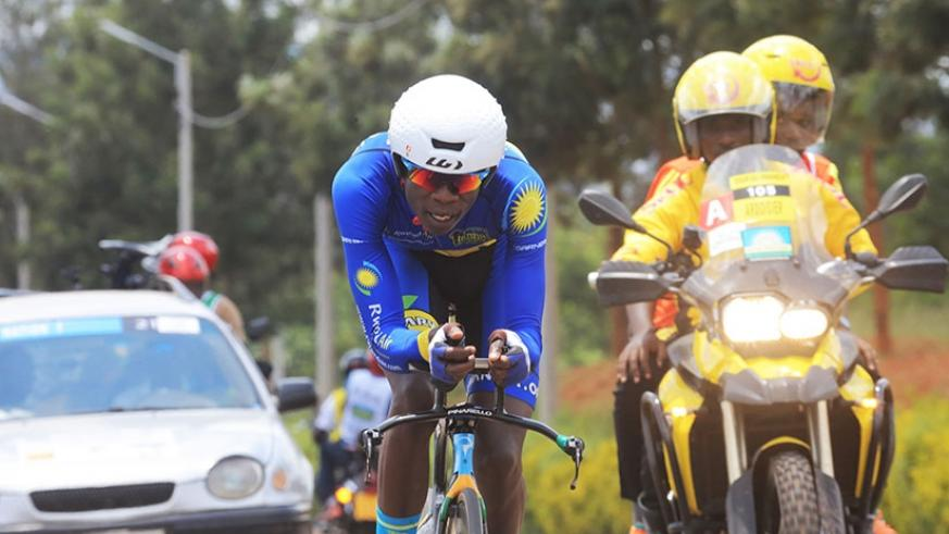 The six-man team is led by the 2015 Tour du Rwanda champion, Jean Bosco Nsengimana. (Sam Ngendahimana)
