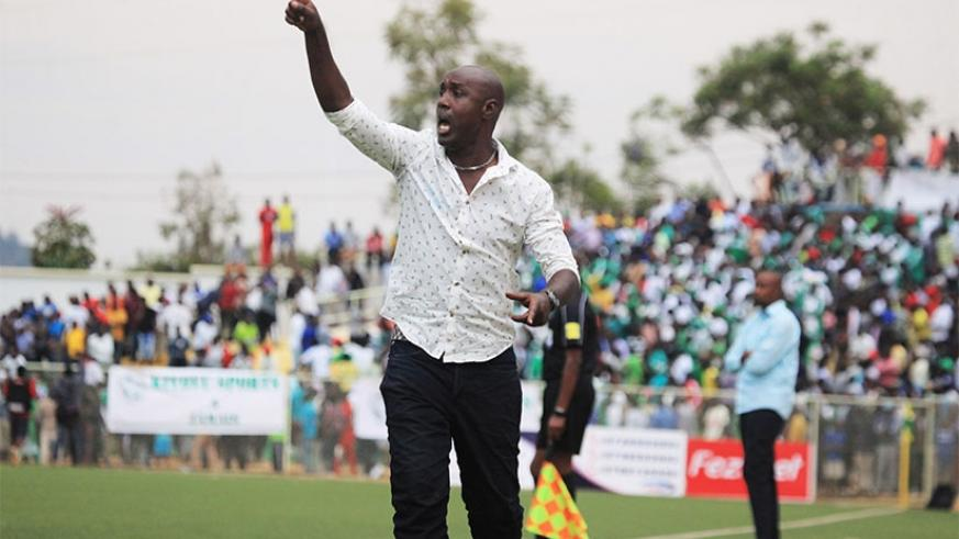 Karekezi, 34, who signed a two-year contract with Rayon Sports in July 2017, returned to his family in Sweden two weeks ago. Sam Ngendahimana.