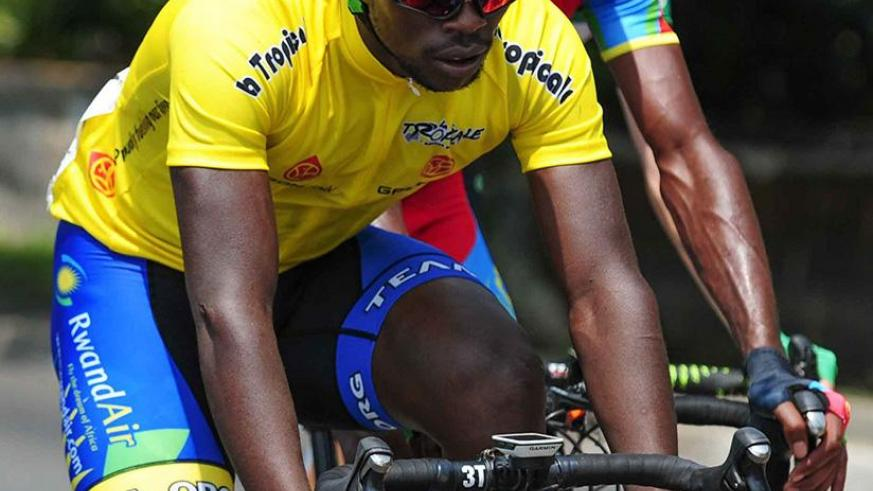 Areruya defied odds to win Africa's biggest race, La Tropicale Amissa Bongo, in January. File.