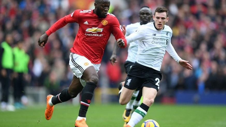 United striker Romelu Lukaku was hailed for his aggressive approach to leading the line and played a crucial role in victory.