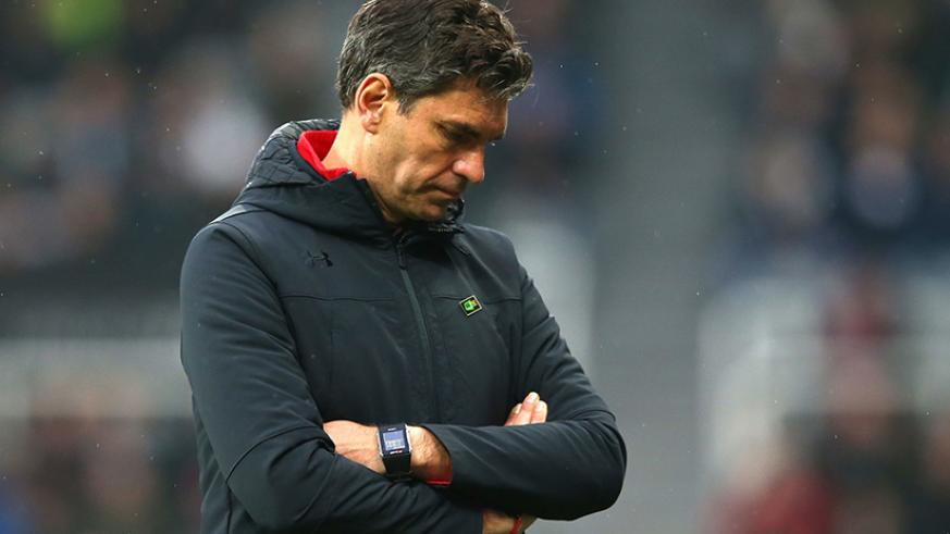 Southampton have sacked manager Mauricio Pellegrino after Saturday's loss at Newcastle. Net photo