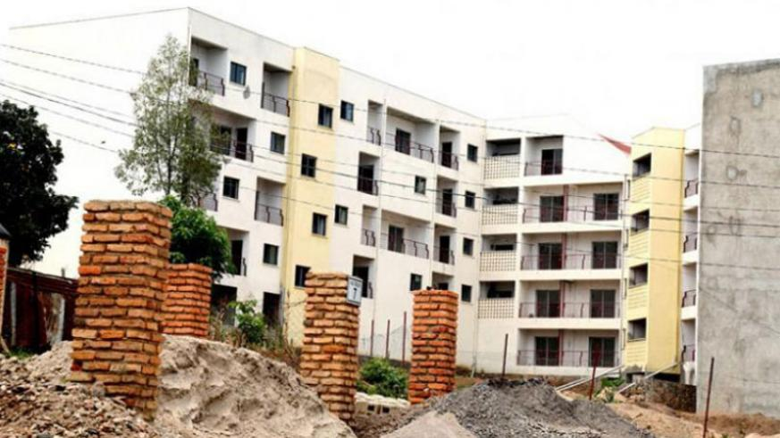 Ujenge's Palm Estate project in Kagugu went into receivership in 2016. (File)
