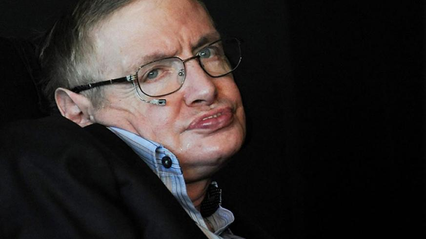 Stephen Hawking died peacefully at his home in Cambridge in the early hours of Wednesday. / Internet photo