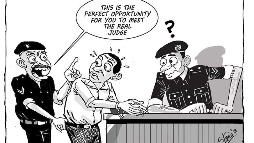 Police in Rusizi District are holding a 49-year old man for allegedly impersonating a court judge and defrauding unsuspecting people.