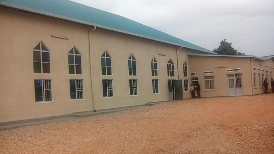 The newly inaugurated Cathedral of Gasabo Diocese.  Michel Nkurunziza.