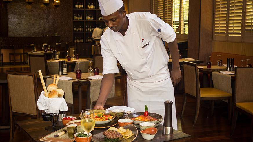 31-year-old Sindayigaya is a sous chef. Courtesy photos