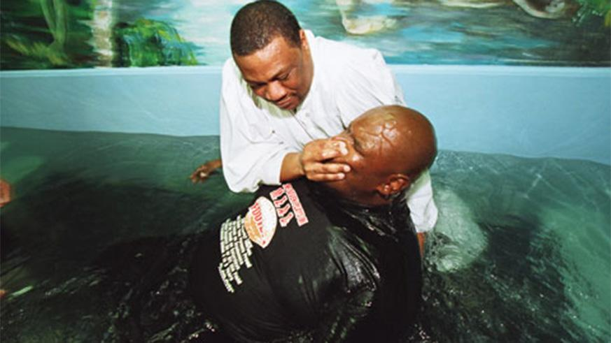 What Does The Bible Say About Baptism The New Times Rwanda