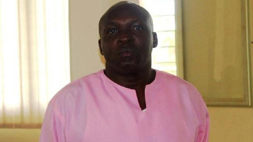 Emmanuel Mbarushimana was the first Rwandan to be extradited from Denmark. He was last December sentenced to life. / File