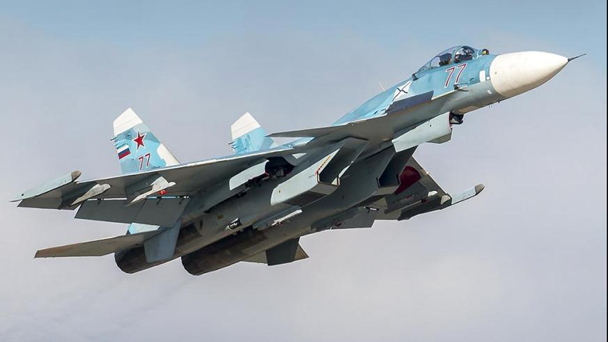 Russian warplane crashes in Syria